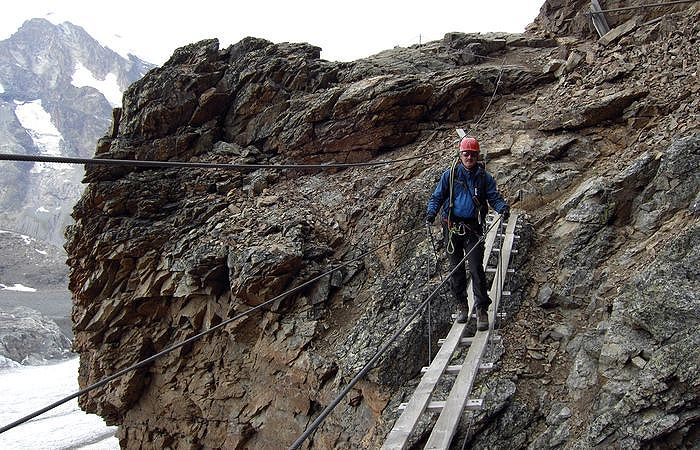 Klettersteig Franken : Piz trovat klettersteig